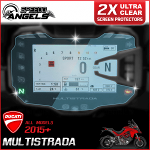 Ducati Multistrada instrument cluster dashboard screen protector protection film