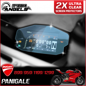 Ducati Panigale instrument cluster dashboard screen protector protection film