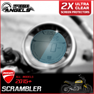 Ducati Scrambler instrument cluster dashboard screen protector protection film