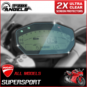 Ducati Supersport instrument cluster dashboard screen protector protection film