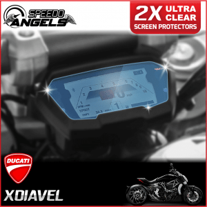 Ducati XDiavel instrument cluster dashboard screen protector protection film kit