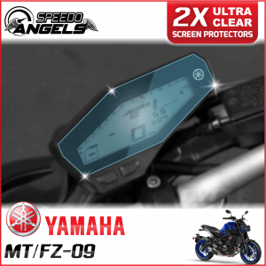 YAMAHA MT-09/FZ-09 instrument cluster dashboard screen protector protection film kit