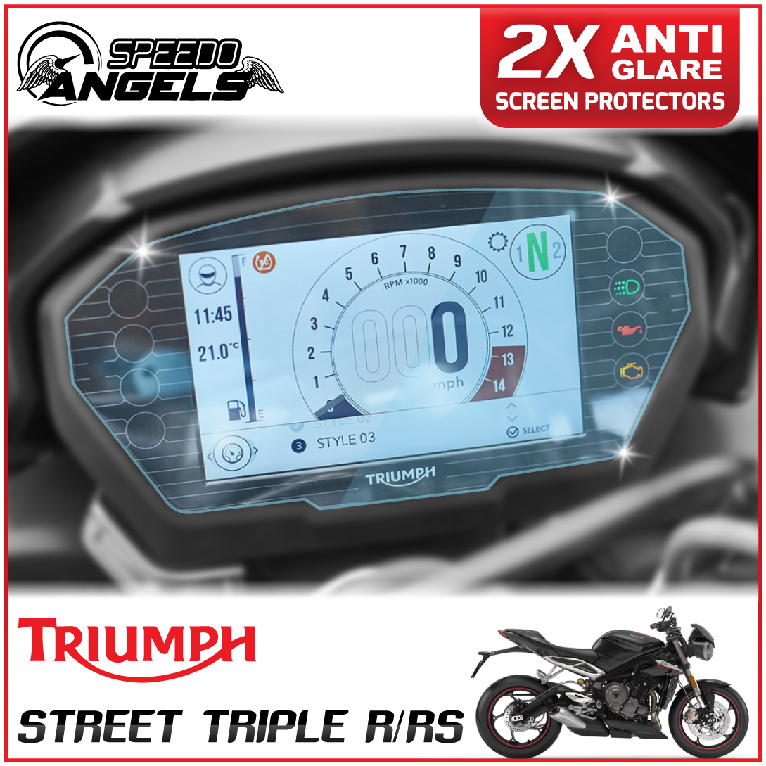 Triumph Street Triple screen protector