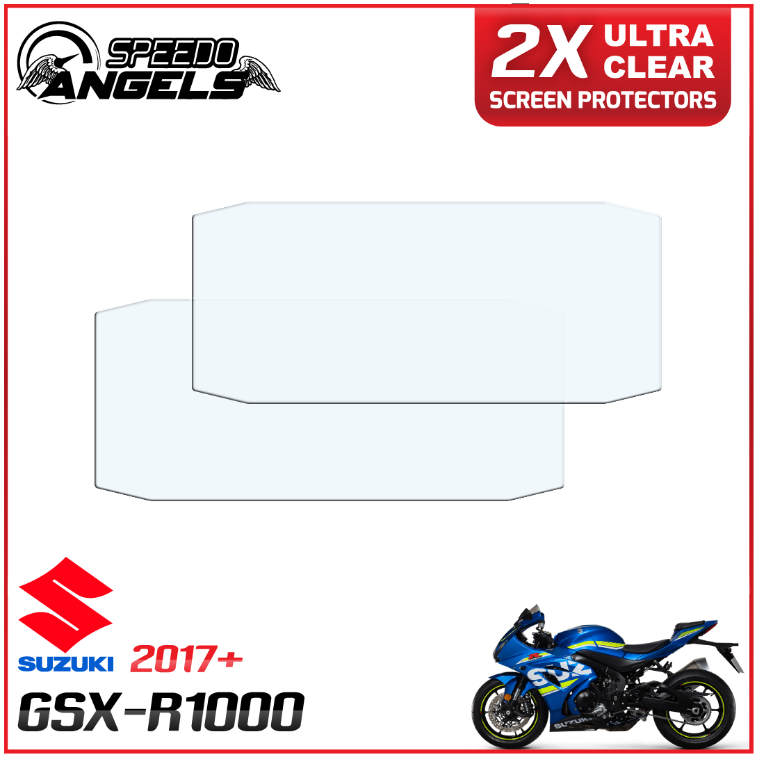 Dashboard Screen Protectors Ultra Clear 2 x Suzuki GSX-R125 2017