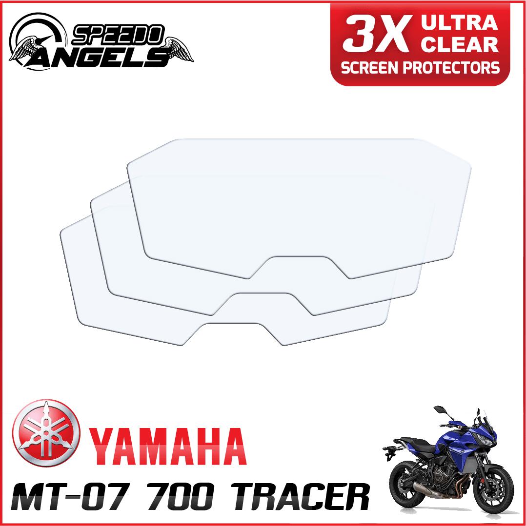 Dashboard Screen Protector 1 x Clear /& 1 x Anti-Glare Yamaha MT07 FZ07 2014