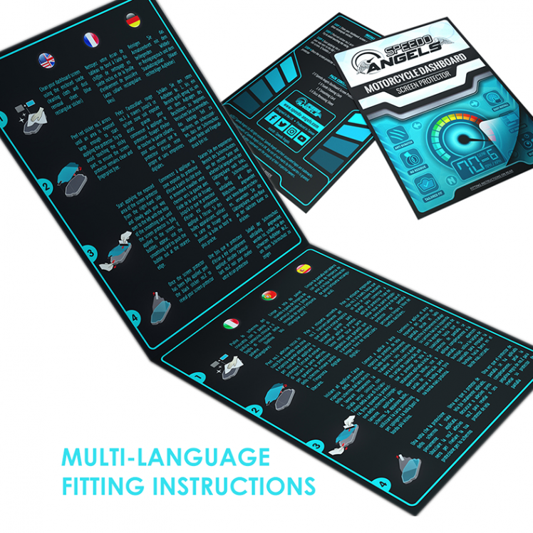 Multi-language instructions SMALLER TEXT