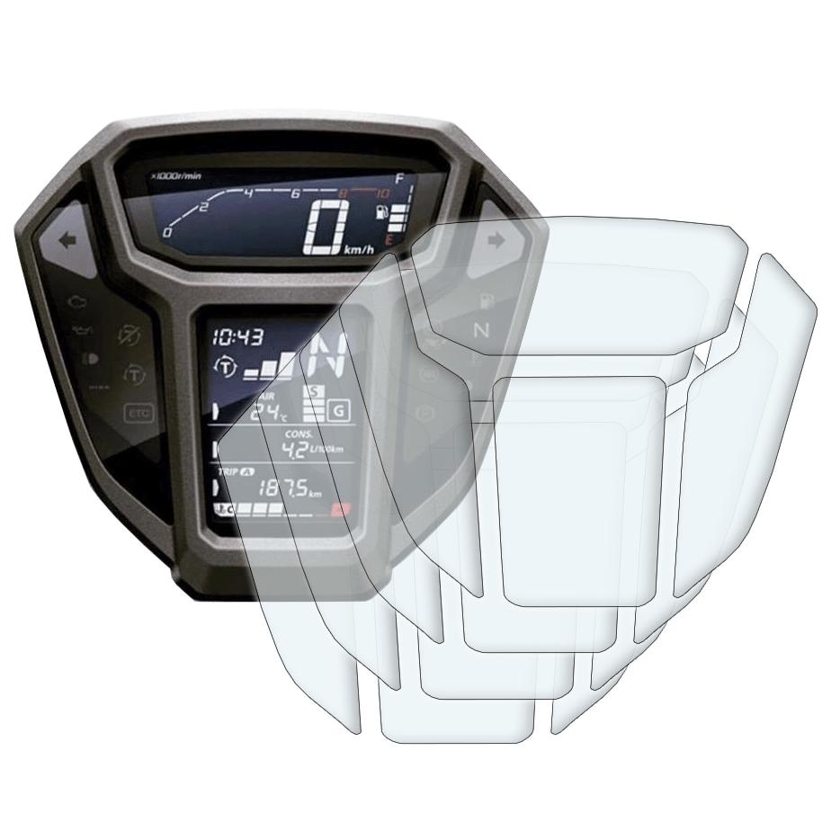 Anti-Glare 2 x Honda Africa Twin CRF1000L 2015-2017 Dashboard Screen Protector