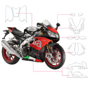 BLOQ Paint Protection Kit – Aprilla RSV4 RF 2016-