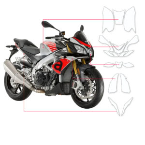 BLOQ Paint Protection Kit – Aprilla Tuono V4 1100 RR 2016-