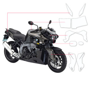 BLOQ Paint Protection Kit – BMW K1300R  2009-2015