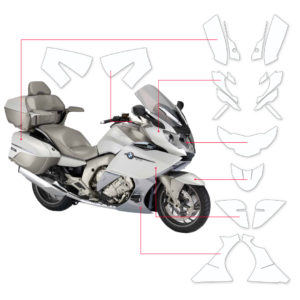 BLOQ Paint Protection Kit – BMW K1600 GTL Exclusive 2011-2016