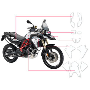 BLOQ Paint Protection Kit – BMW F800 GS  2013-