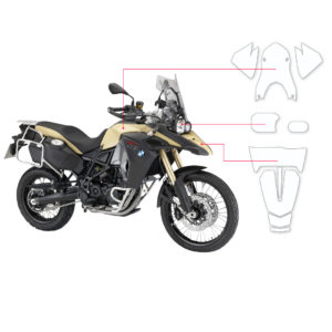 BLOQ Paint Protection Kit – BMW F800 GS ADVENTURE  2013-