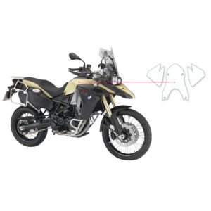 BLOQ Fuel Tank Protection Kit – BMW F800 GS ADVENTURE  2013-