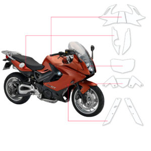 BLOQ Paint Protection Kit – BMW F800 GT  2013-
