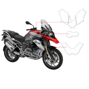 BLOQ Paint Protection Kit – BMW R1200 GS 2013-2018