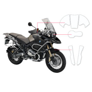 BLOQ Paint Protection Kit – BMW R1200 GS ADVENTURE  2013-2018