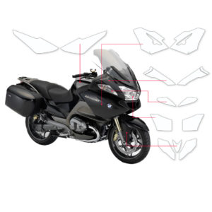 BLOQ Paint Protection Kit – BMW R1200 RT  2013-2013