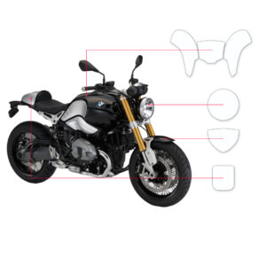 BLOQ Paint Protection Kit – BMW R Nine T  2014-