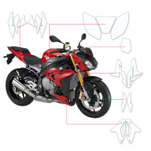 BLOQ Paint Protection Kit – BMW S1000 R  2014-2016