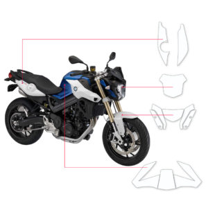 BLOQ Paint Protection Kit – BMW F800R  2015-