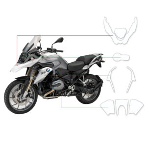 BLOQ Paint Protection Kit – BMW R1200 GS TE 2015-