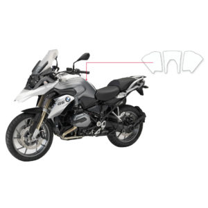 BLOQ Fuel Tank Protection Kit – BMW R1200 GS TE 2015-