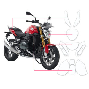 BLOQ Paint Protection Kit – BMW R1200 R  2015-