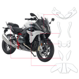 BLOQ Paint Protection Kit – BMW R1200 RS Iconic 100 2015-