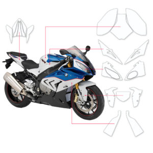 BLOQ Paint Protection Kit – BMW S1000 RR  2015-2019