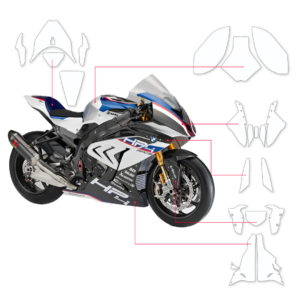 BLOQ Paint Protection Kit – BMW HP4 Race  2017-