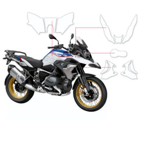 BLOQ Paint Protection Kit – BMW R1250 GS 2019-