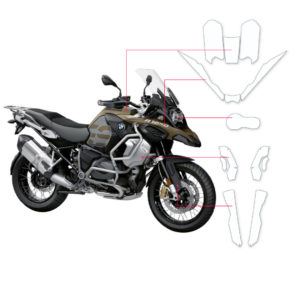 BLOQ Paint Protection Kit – BMW R1250 GS Adventure 2019-