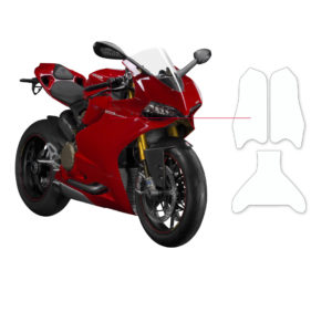 BLOQ Fuel Tank Protection Kit – DUCATI PANIGALE 1199S 2012-2014