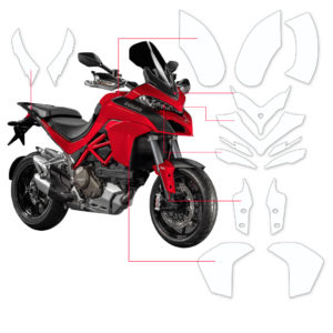 BLOQ Paint Protection Kit – DUCATI MULTISTRADA  2015-2017