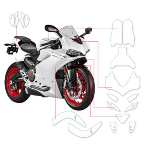 BLOQ Paint Protection Kit – DUCATI PANIGALE 959 2016-