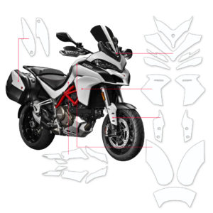 BLOQ Paint Protection Kit – DUCATI MULTISTRADA D Air,1260S,1260 2017-