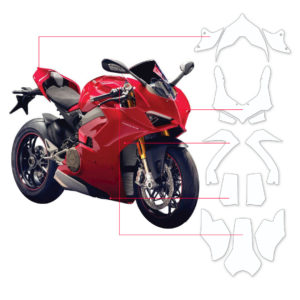 BLOQ Paint Protection Kit – DUCATI PANIGALE Speciale,V4,V4S,V4S Corse 2018-