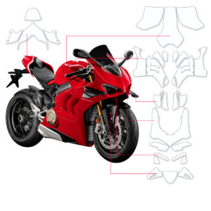 BLOQ Paint Protection Kit – DUCATI PANIGALE V4 R 2019-