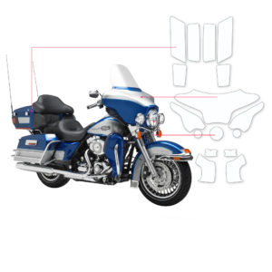 BLOQ Paint Protection Kit – Harley Davidson Electra Glide FLHTCU 2009-2014