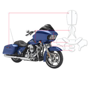 BLOQ Paint Protection Kit – Harley Davidson Electra Glide Road 2016-
