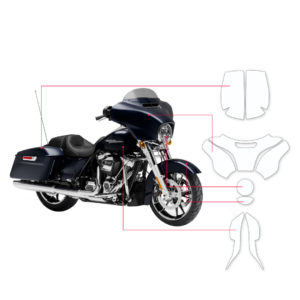 BLOQ Paint Protection Kit – Harley Davidson Electra Glide Street 2016-