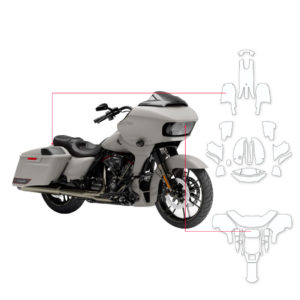BLOQ Paint Protection Kit – Harley Davidson Road Glide CVO 2019-