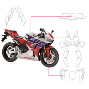 BLOQ Paint Protection Kit – HONDA CBR600RR  2013-2018