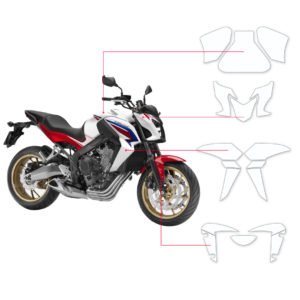 BLOQ Paint Protection Kit – HONDA CB 650F  2014-2017
