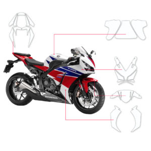 BLOQ Paint Protection Kit – HONDA CBR1000RR FIREBLADE 2014-
