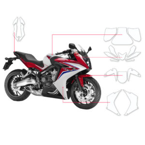 BLOQ Paint Protection Kit – HONDA CBR650F  2014-