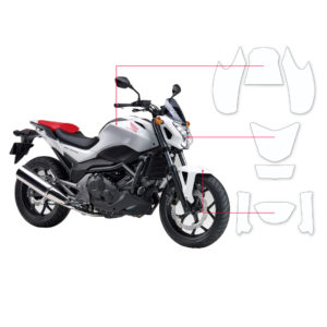 BLOQ Paint Protection Kit – HONDA NC750S  2014-