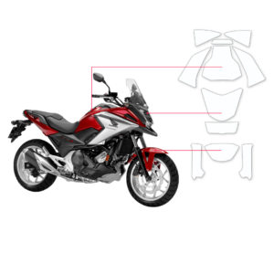 BLOQ Paint Protection Kit – HONDA NC750X  2014-2017