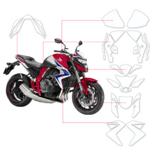 BLOQ Paint Protection Kit – HONDA CB1000R  2015-2017